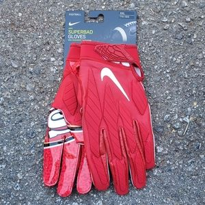 Nike San Francisco 49ers Superbad Football Gloves